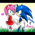 sonic and amy - sonamy photo