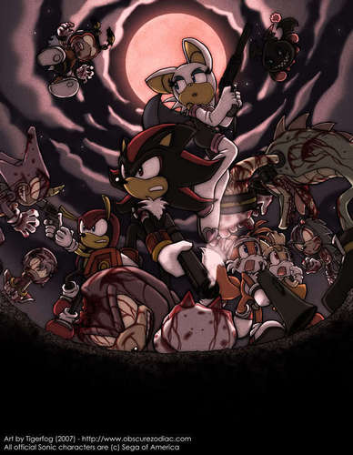 sonic zombies - sonic-the-hedgehog Photo