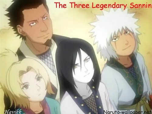 the three legendary sannin