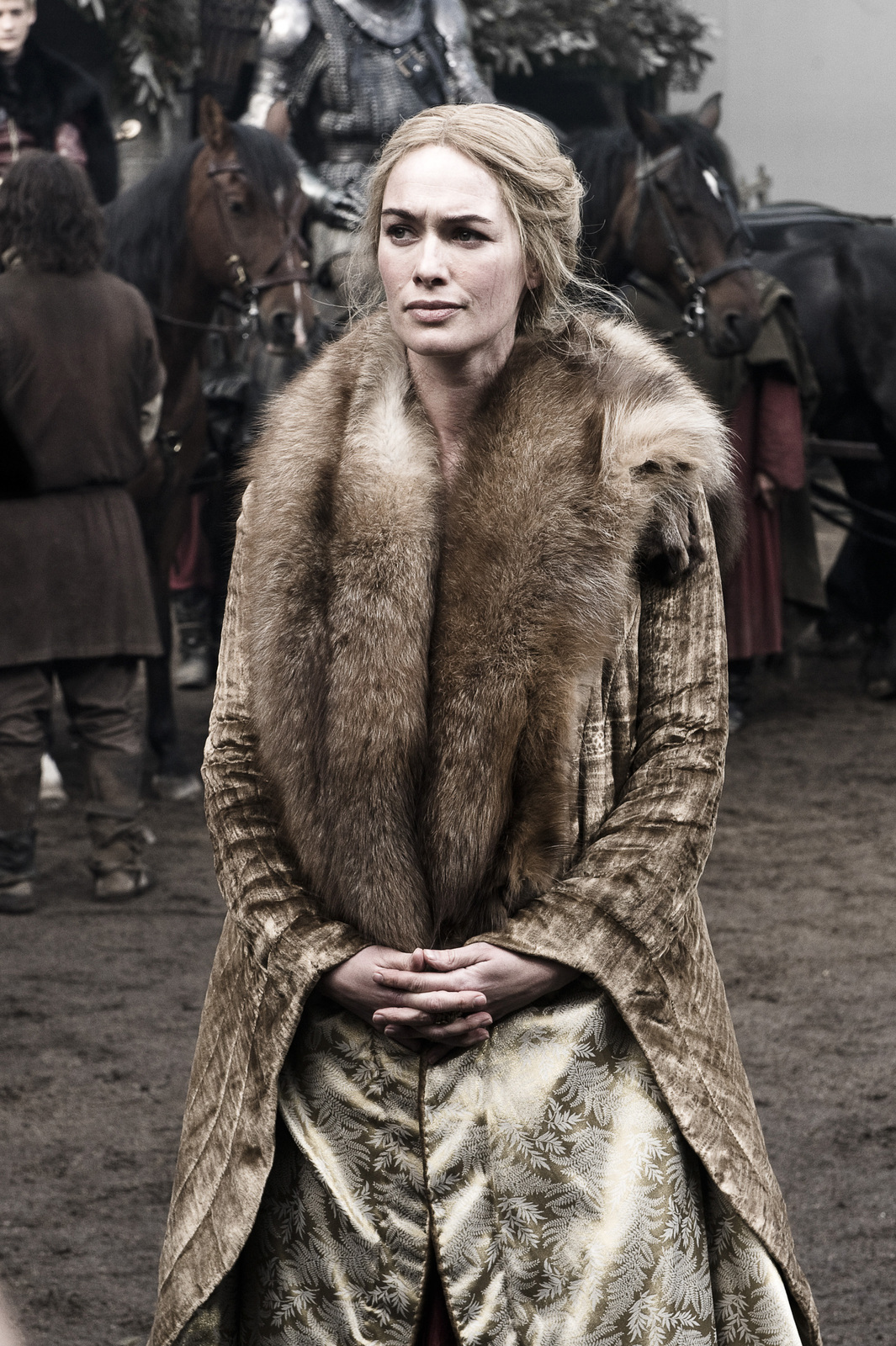 *Game of Thrones* Production Stills - Lena Headey Photo ...