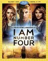 'I Am Number Four' DVD Cover