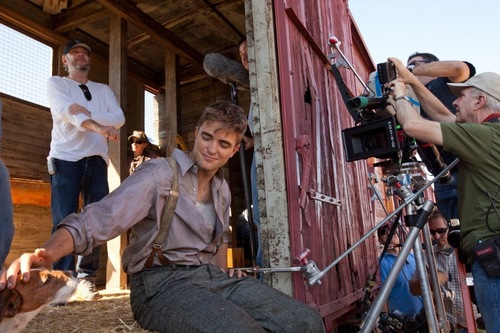 'Water For Elephants' Behind The Scenes Stills