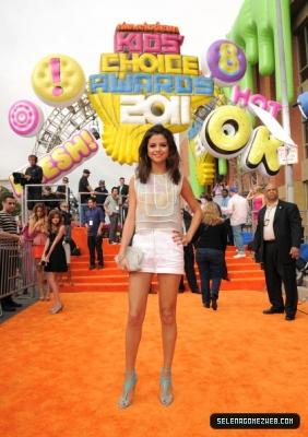04-02-11: Nickelodeon's 24th Annual Kids' Choice Awards