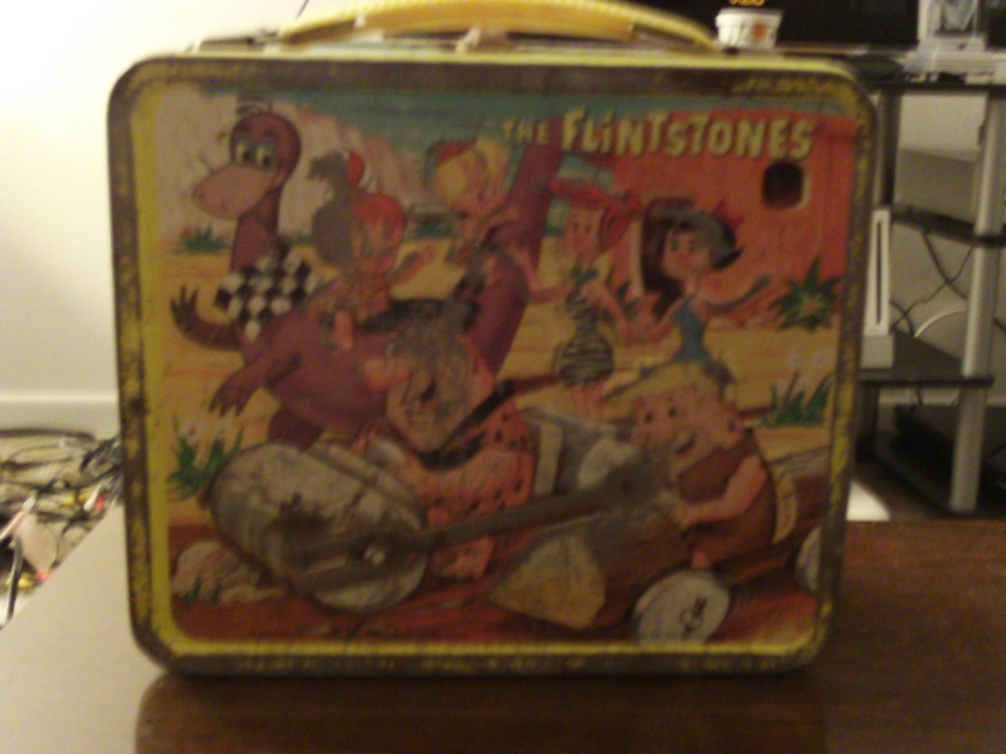1964 Flintstones Lunch box