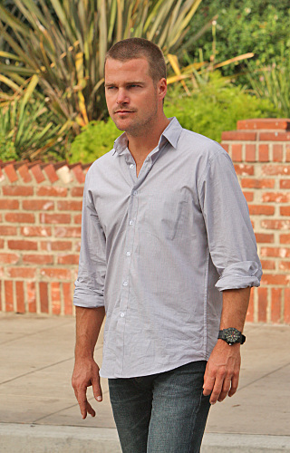 NCIS: Los Angeles wallpaper probably containing a business suit and a street entitled 2.06-Standoff-promos