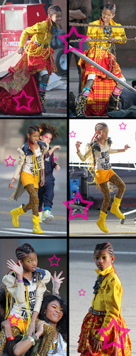 Willow Smith achtergrond called 21 Century Girl