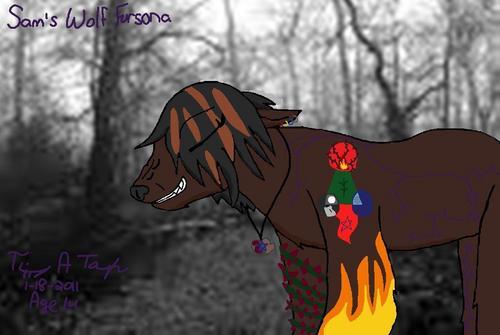A friend's Fursona