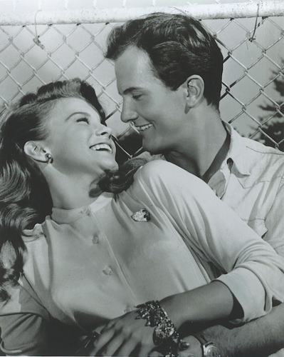 Movie Couples wallpaper with a chainlink fence entitled ANN-MARGRET  PAT BOONE
