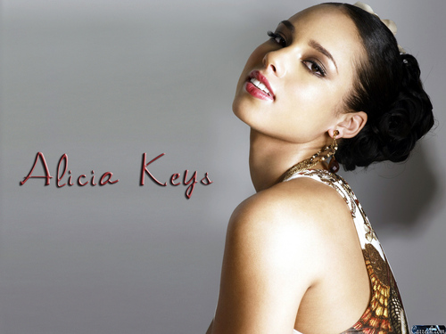 Alicia Keys wallpaper probably containing a portrait titled Alicia Keys