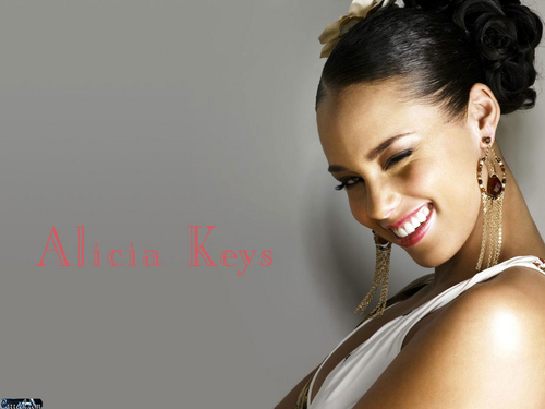 Alicia Keys wallpaper probably with a portrait called Alicia Keys