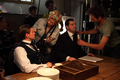 Allen Leech and Brendan Coyle filming series 1 - downton-abbey photo