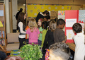 Alyssa Suprises Fans At Their School Science Fair!