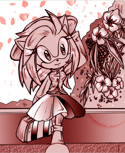 Amy Rose -The Sounds of música
