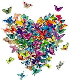 Butterflies wallpaper probably containing a bouquet titled Animated Butterflies