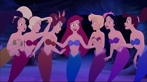 Ariels Beginning - Ariels sisters Image (20629001