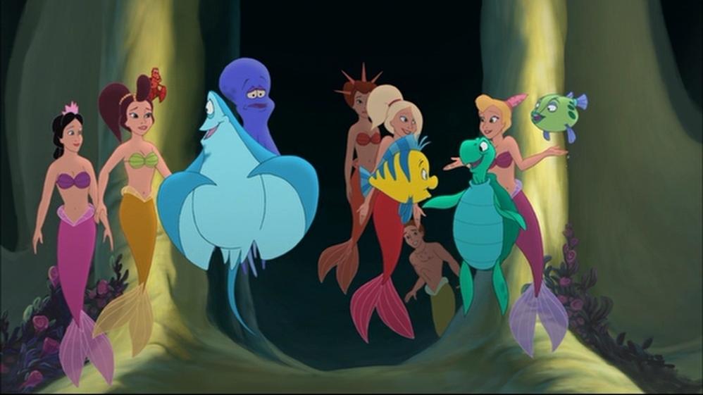 Ariel's Sisters Disney