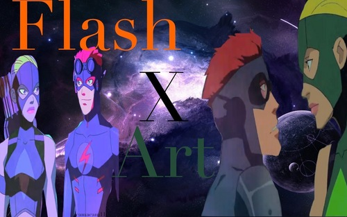 Artemis & Kid Flash
