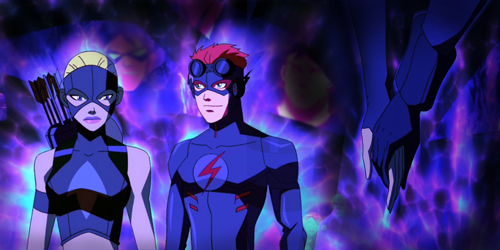 Artemis & Kid Flash - young-justice photo