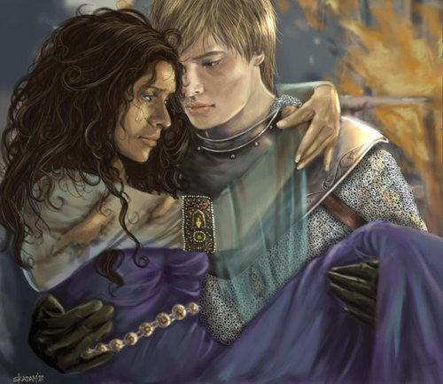 Arthur and Guinevere legendary