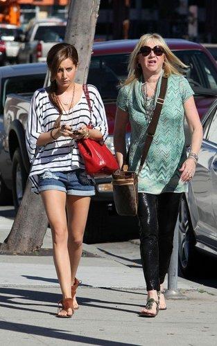 Ashley Tisdale Urth Caffe - March 31, 2011