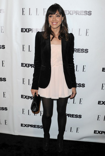"""Aubrey @ ELLE And Express """"25 At 25"""" Event - 2010"""