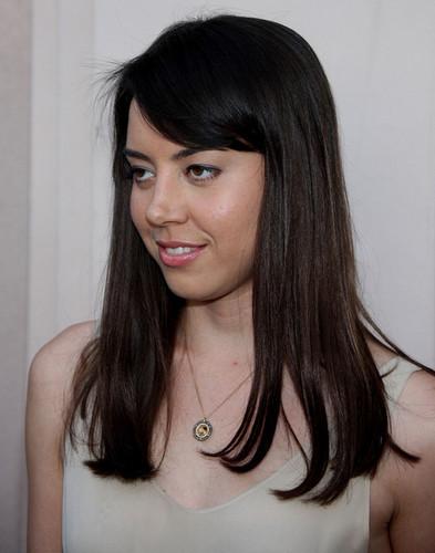"Aubrey @ ""Parks And Recreation"" Emmy Screening - 2010"