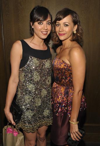 Aubrey & Rashida Jones @ AMC Hosts A 62nd Annual EMMY Awards After Party - 2010