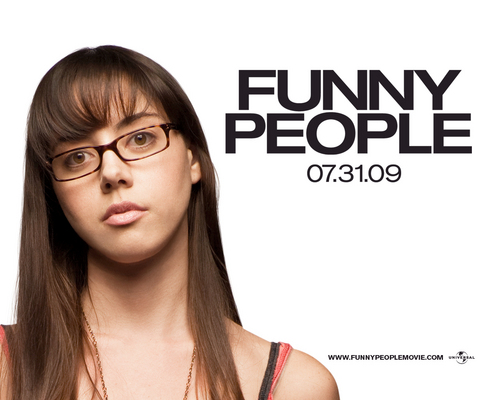 Aubrey in Funny People