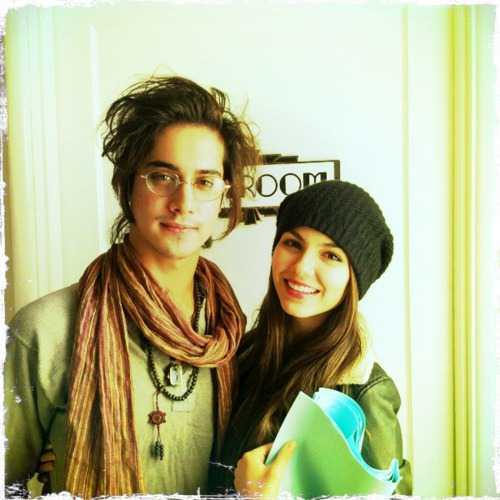 Avan Jogia wallpaper probably containing a portrait called Avan & Victoria