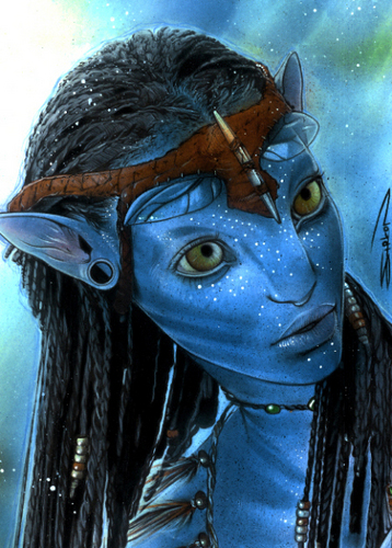 Avatar wallpaper titled Avatar Neytiri
