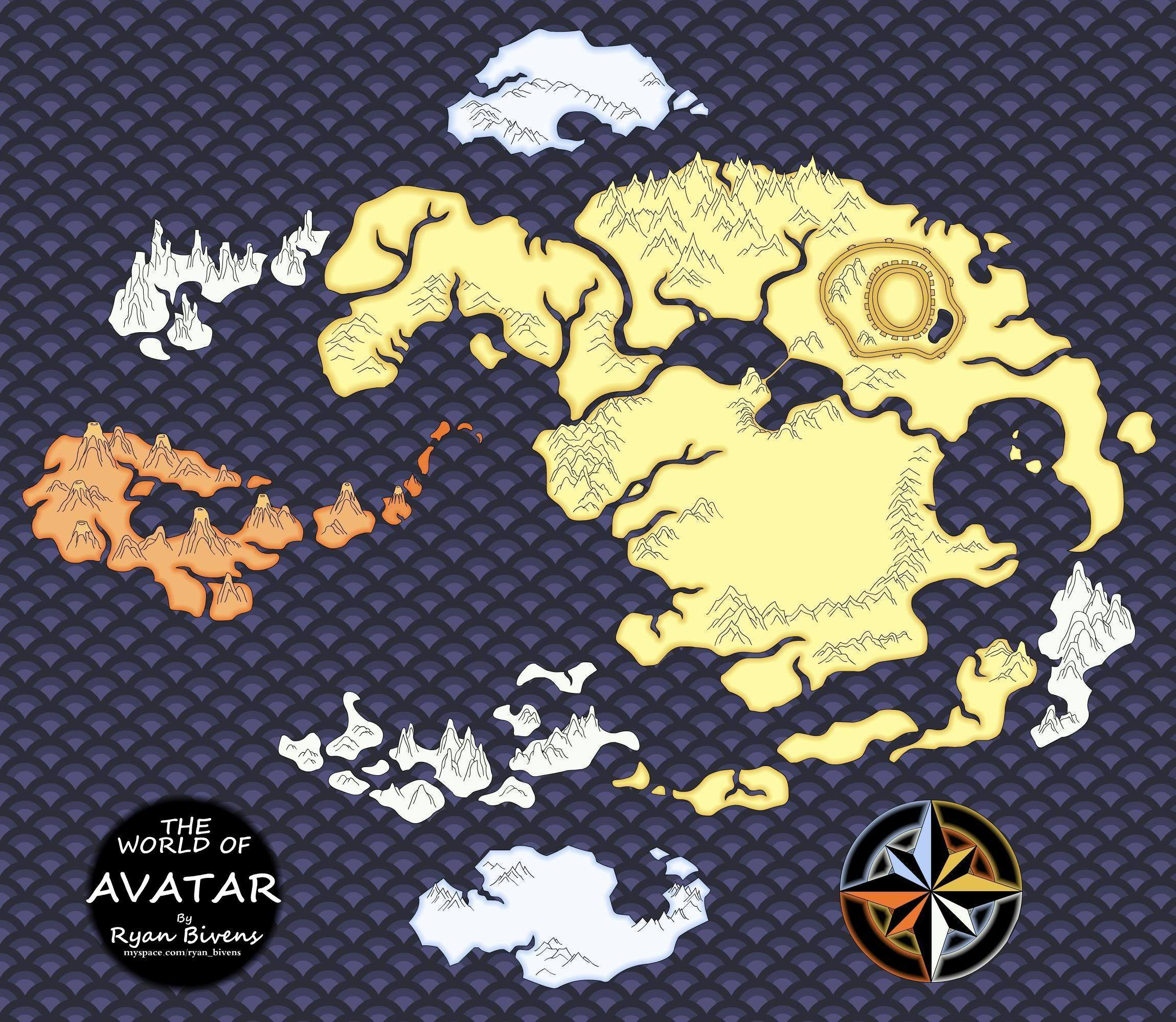 Avatar The Last Airbender Images AvatarMap HD Wallpaper And Background Photos