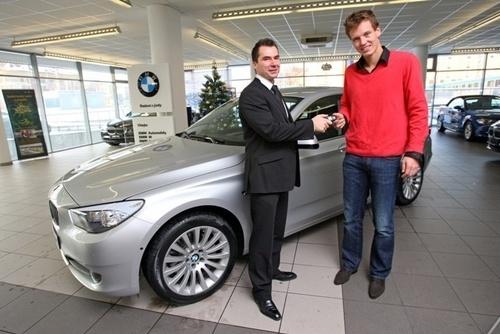 BERDYCH NEW CAR BMW 3