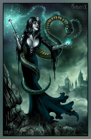 Bellatrix and Nagini