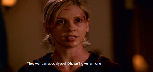 Buffy The Vampire Slayer!
