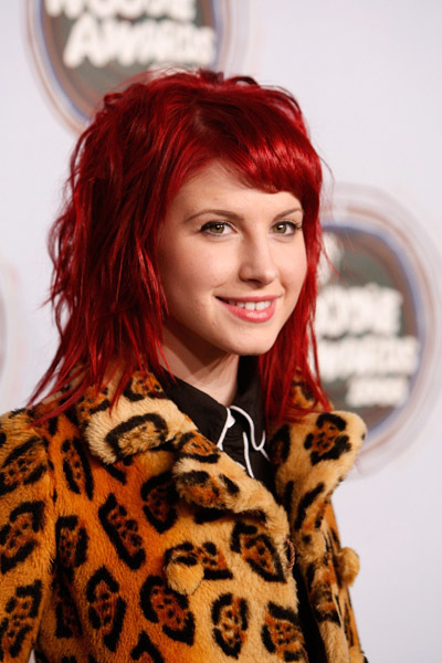 Cherry Red Hair - Hayley William's Hair Photo (20601063) - Fanpop