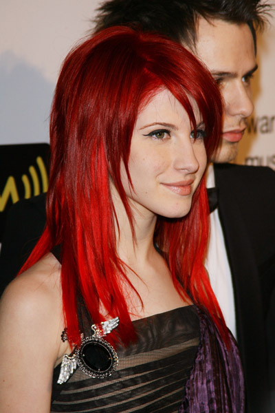 cherry red hair hayley williams hair photo 20601079