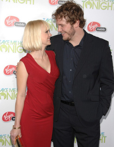 Chris Pratt & Anna Faris @ 'Take Me trang chủ Tonight' Premiere - 2011