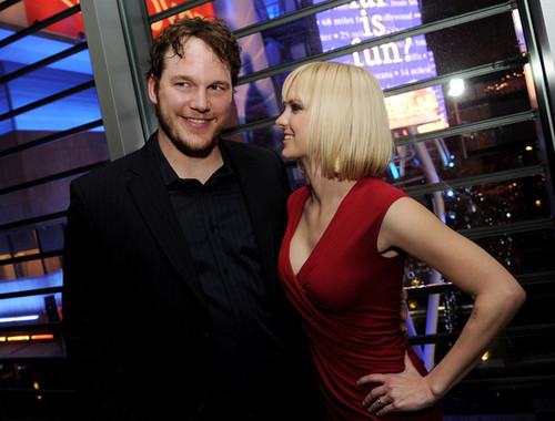 Chris Pratt & Anna Faris @ 'Take Me trang chủ Tonight' Premiere - After Party - 2011