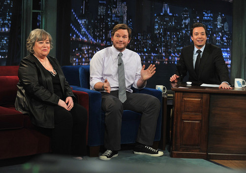 "Chris Pratt on ""Late Night With Jimmy Fallon"" - March 4, 2011"
