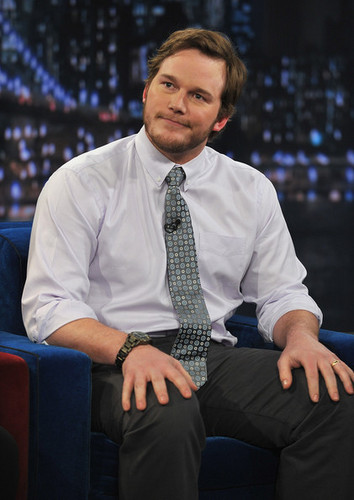 "Chris Pratt on ""Late Night With Jimmy Fallon"" - March 4, 2011"