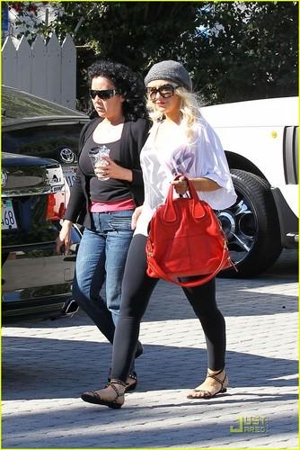 Christina Aguilera: Pre-School Visit with Jordan Bratman!