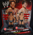 Darren Young and Justin Gabriel wrestling figure