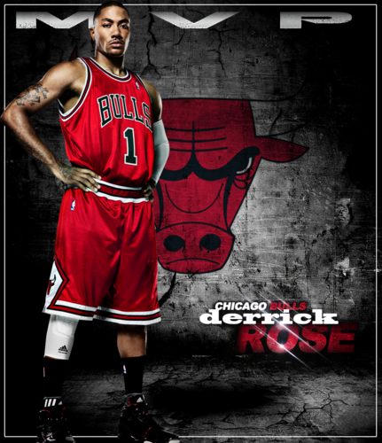 NBA wallpaper containing a pallacanestro, basket player, a dribbler, and a pallacanestro, basket entitled Derrick Rose for MVP