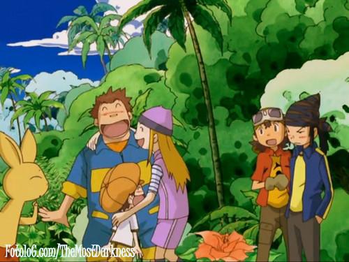 Digimon Frontier group
