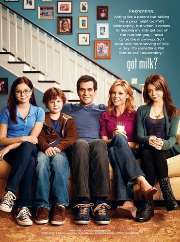 Dunphy Family 'Got Milk?' Campaign Poster