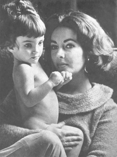 Elizabeth Taylor images Elizabeth and her children HD wallpaper and background photos