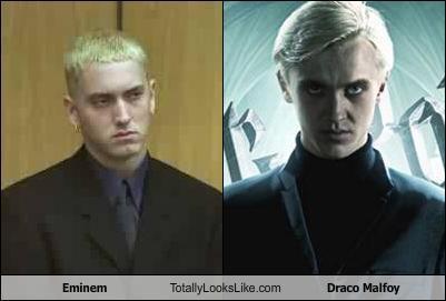 埃米纳姆 totally looks like Draco Malfoy