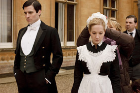 Filming series 1 - downton-abbey Photo