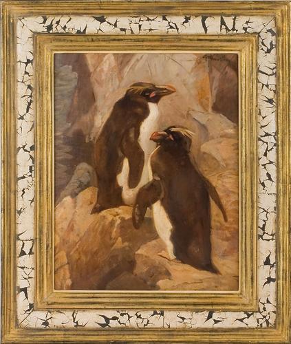 Fine Art Penguins! (by J.C Mension 1882-1950)