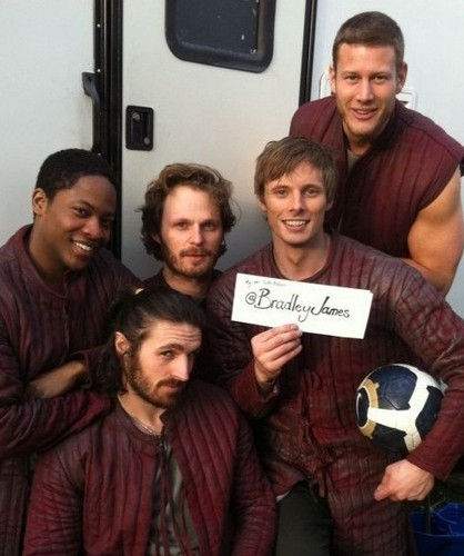 Friday Knight Gift - From Bradley James Tweet